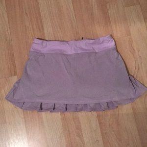Lululemon lavender skirt